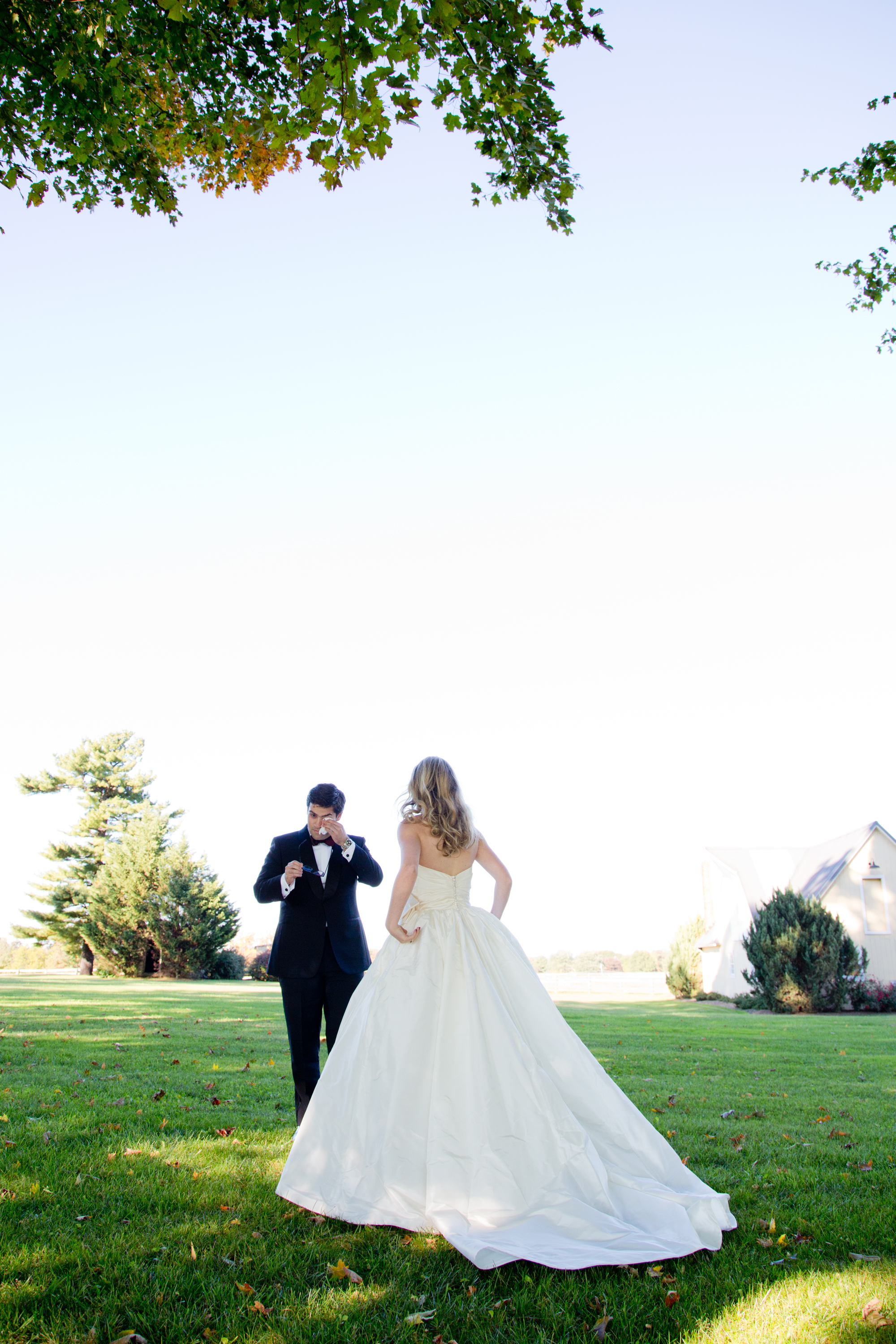032_CarlyGaebe_SteadfastStudio_WeddingPhotography_Readyluck_Baltimore_Outdoors_HorseFarm_Fall_Bride_Groom_FirstLook.jpg