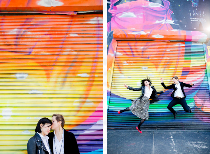 02_CarlyGaebe_SteadfastStudio_EngagementPhotography_Gay_Lesbian_Brooklyn_Colorful_BushwickMural.jpg