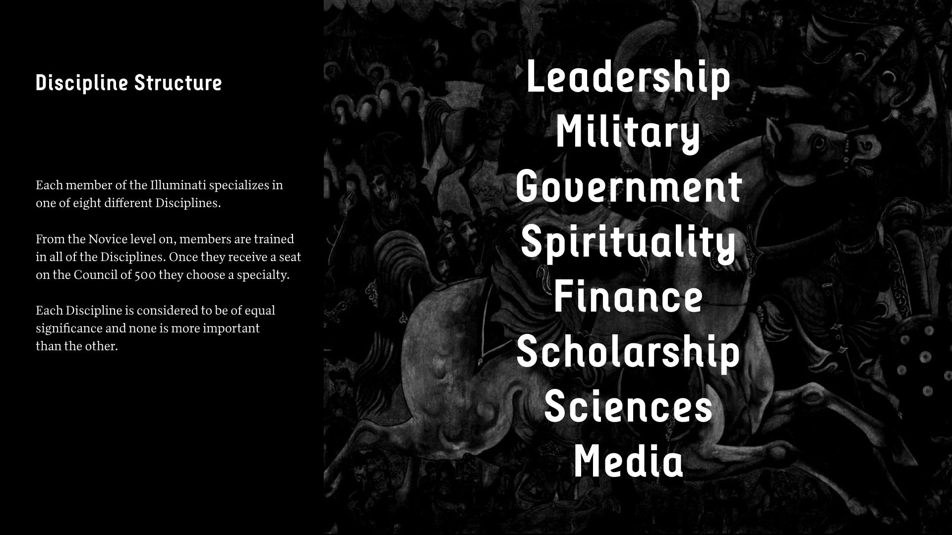 Illuminati — Nico Hammill