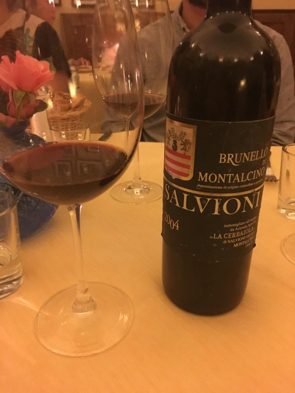 2004 Salvioni, Brunello di Montalcino