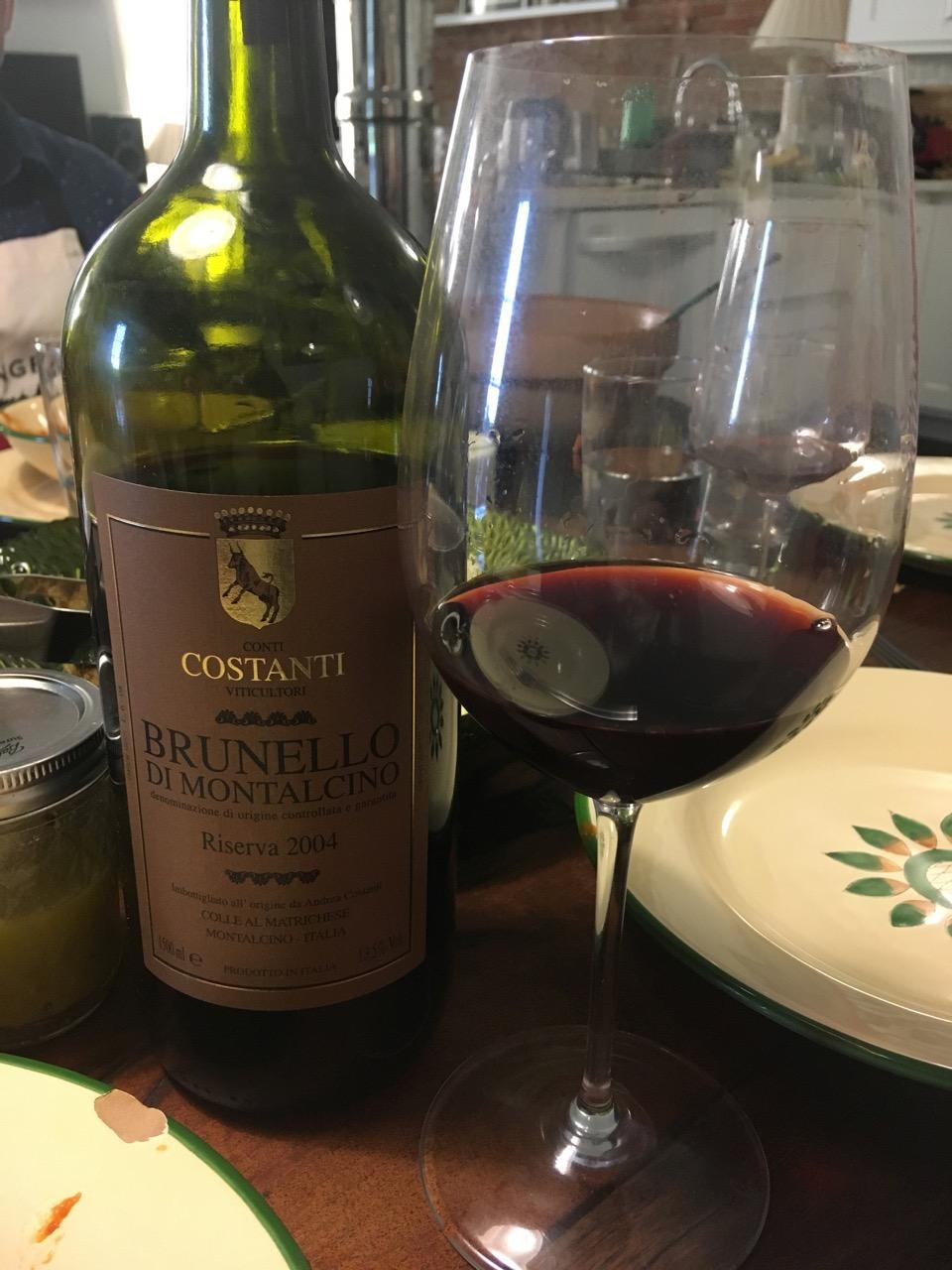 2004 Costanti, Brunello di Montalcino Riserva