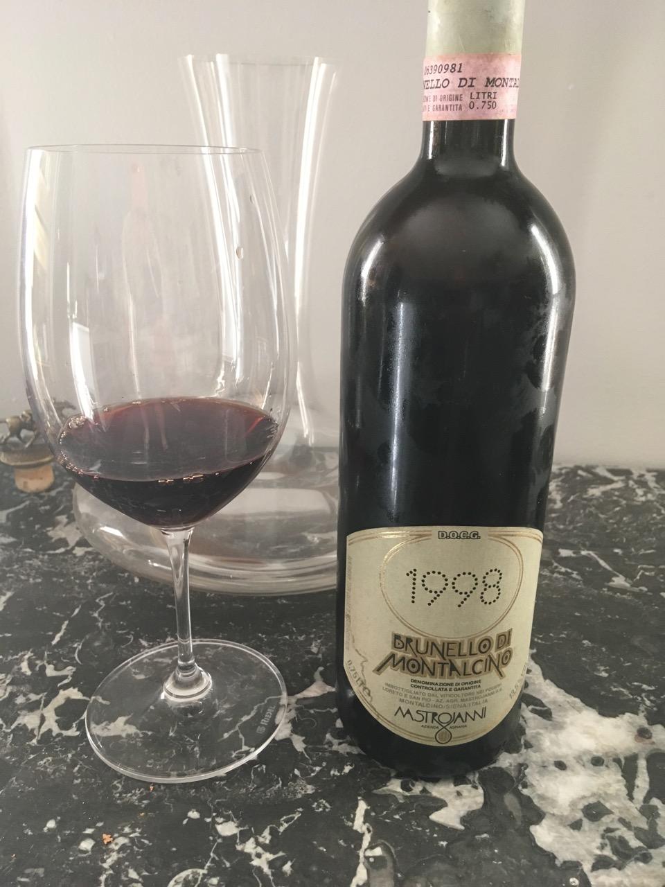1998 Mastrojanni, Brunello di Montalcino