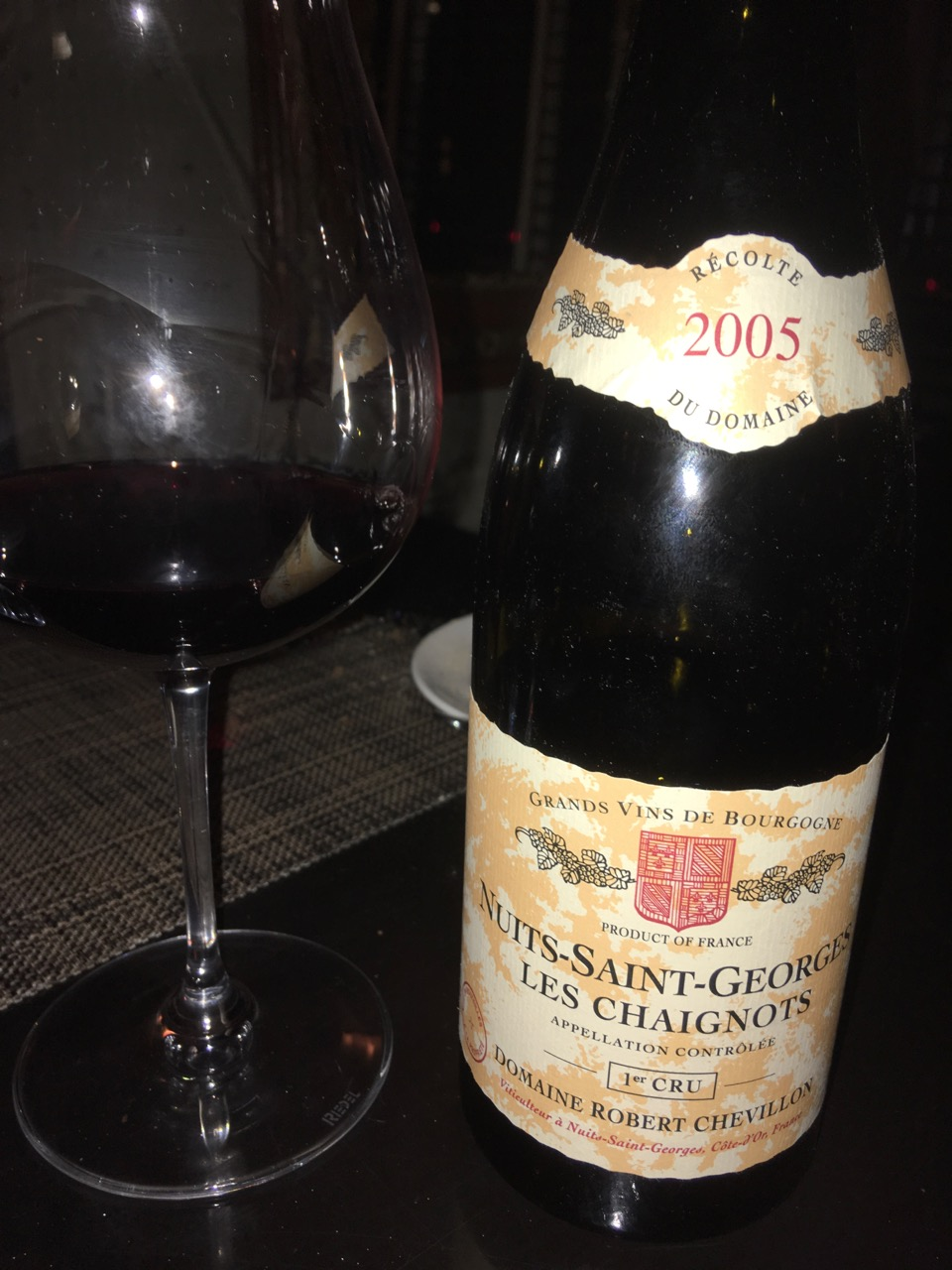 "2005 Chevillon, Nuit Saint-Georges ""Les Chaignots"""