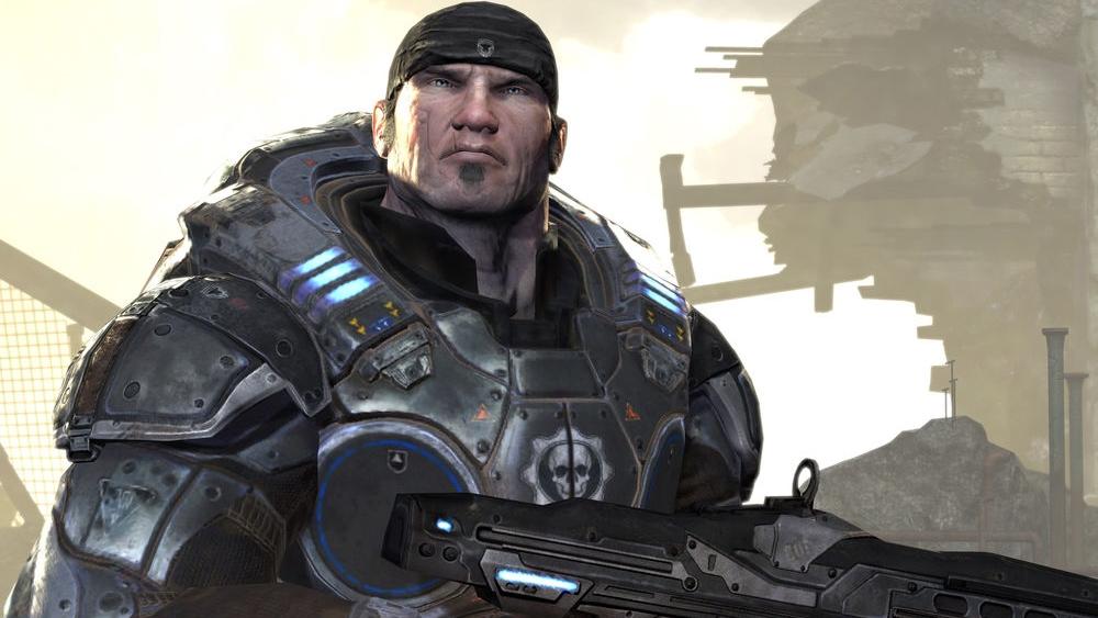 Marcus Fenix, the series protagonist.