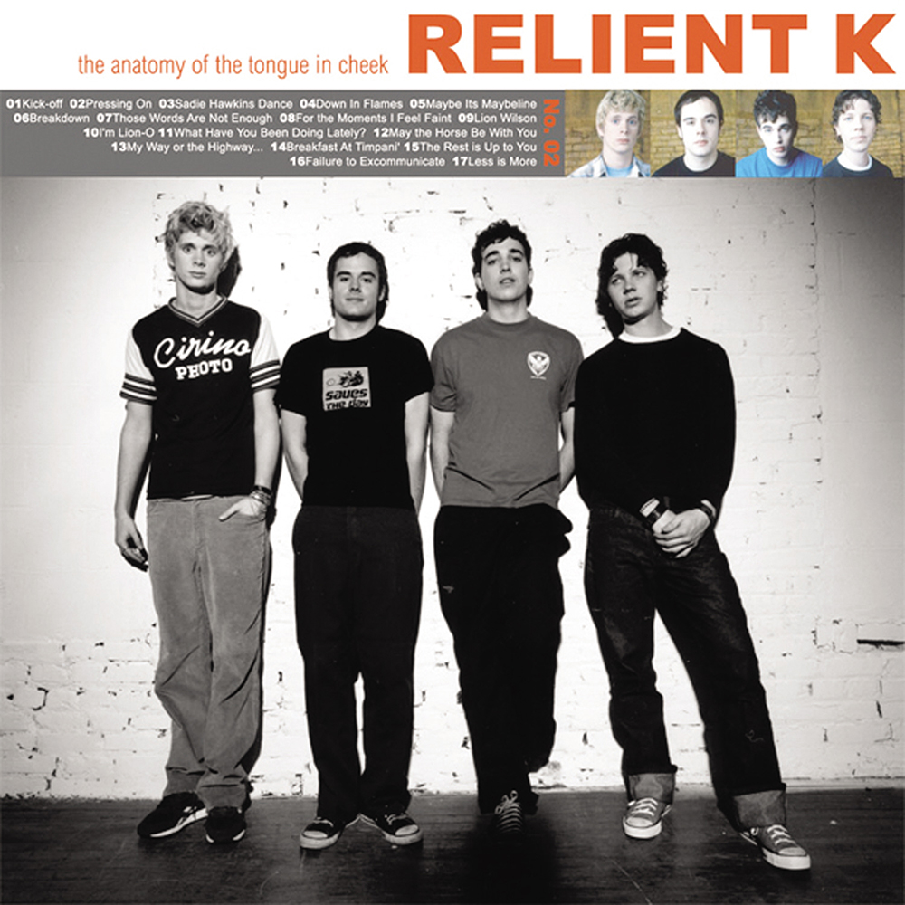 Relient k, The Anatomy of Tongue in CheeK (2001), Gotee Records