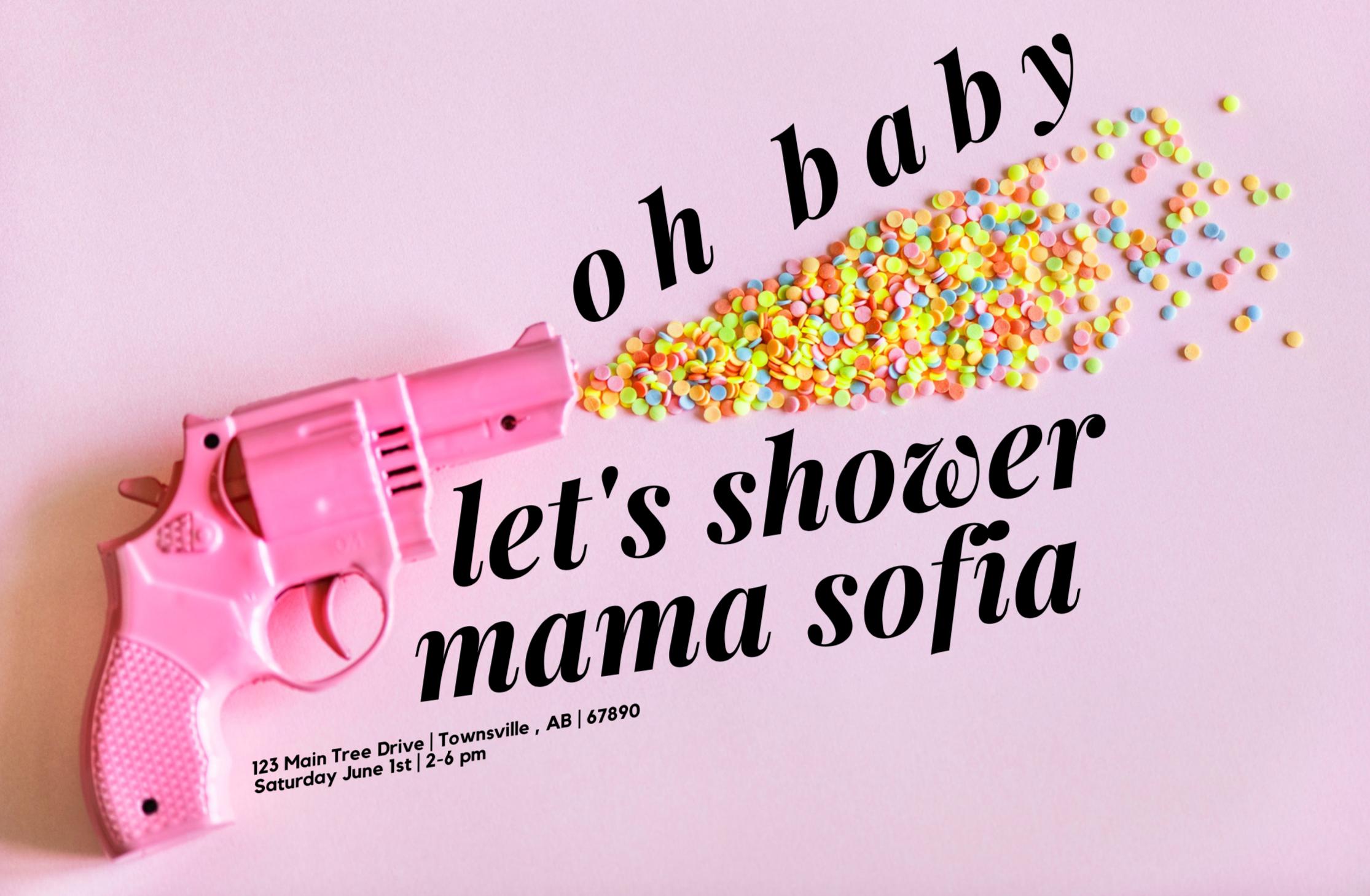 Baby Shower Mock Up