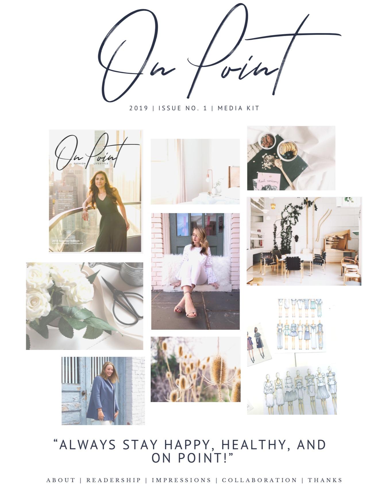 On Point Magazine Media Kit