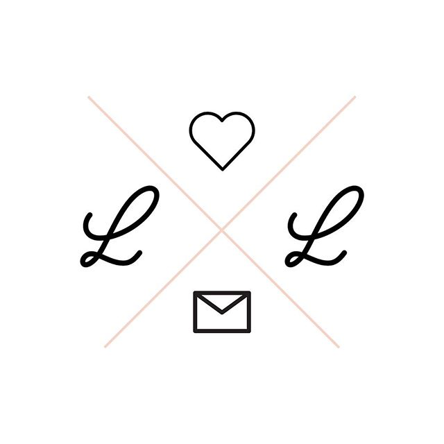 NEW LOGO ✨ Felt like I needed to switch things up a bit! • • • #newlogo #logodesign #logocreation #loversandletters #branding #graphicdesign #brand #creative