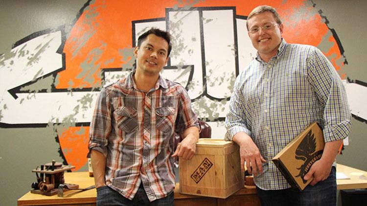 Man Crates Founders Jon Beekman & Sam Gong