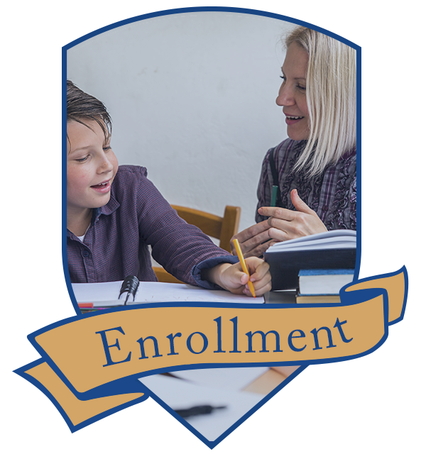 enrollment button