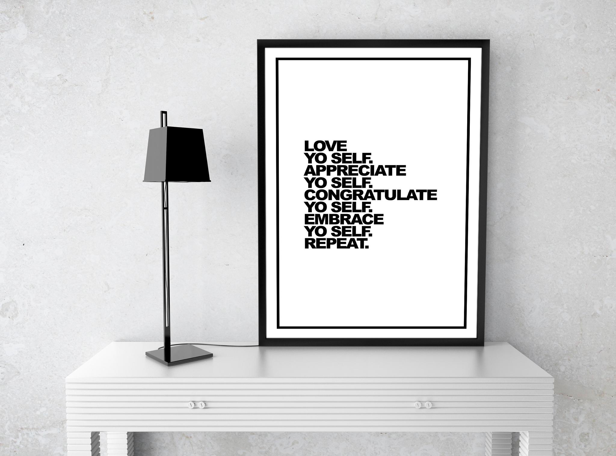 Love Yo Self Print 3