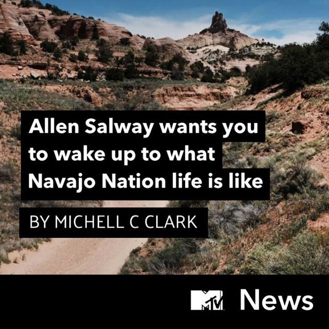 For my latest @MTVNEWS column, I spoke with a Navajo Nation community organizer and writer named Allen Salway (@lilnativeboy) who stands in direct opposition to the erasure and disenfranchisement of his people and all Indigenous peoples. Link is in my bio. ✨