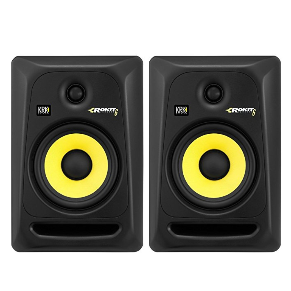 KRK RP6G3-NA Rokit 6 Generation 3 Powered Studio Monitor Pair