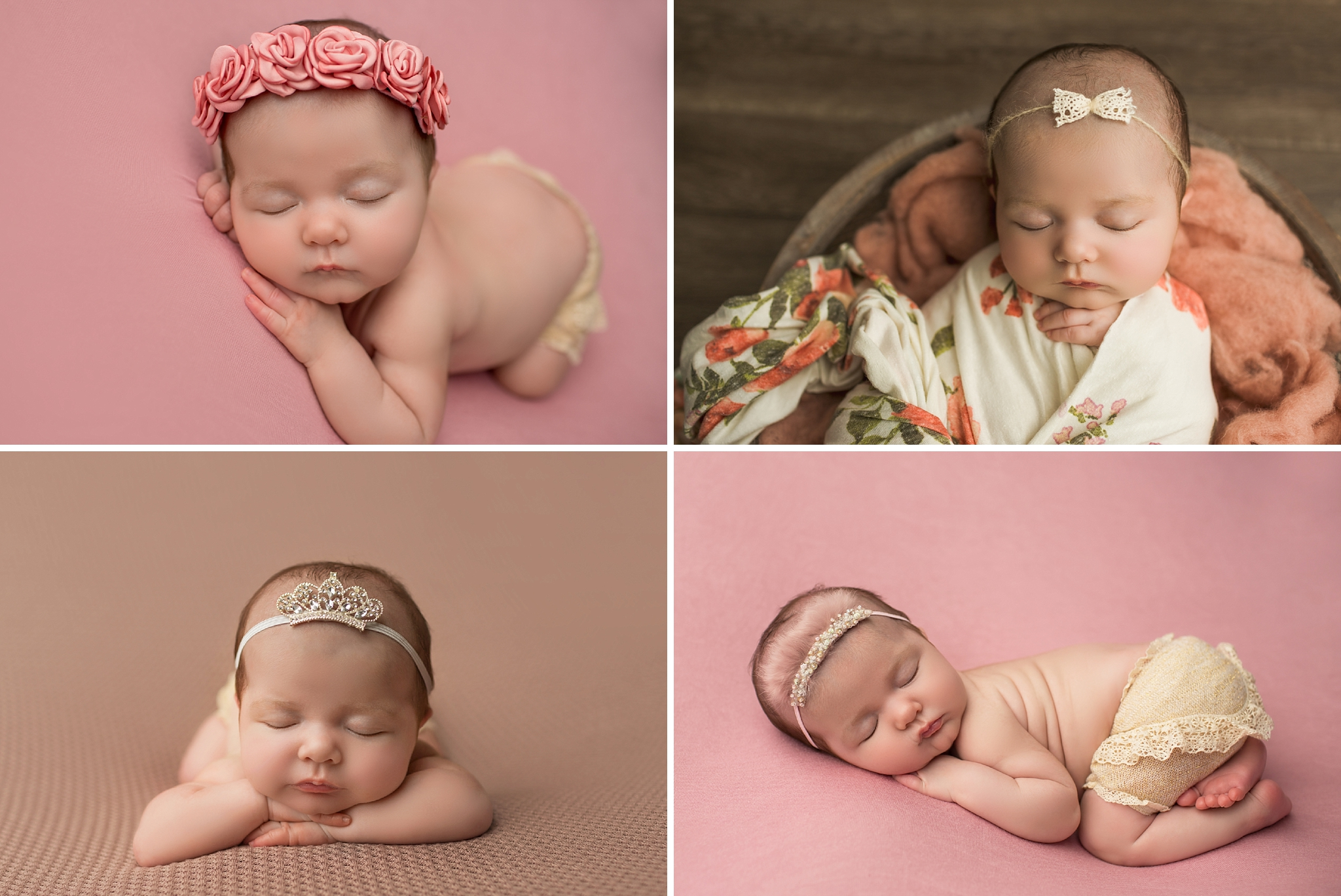 newborn baby photographed by CG Photography in Los Angeles