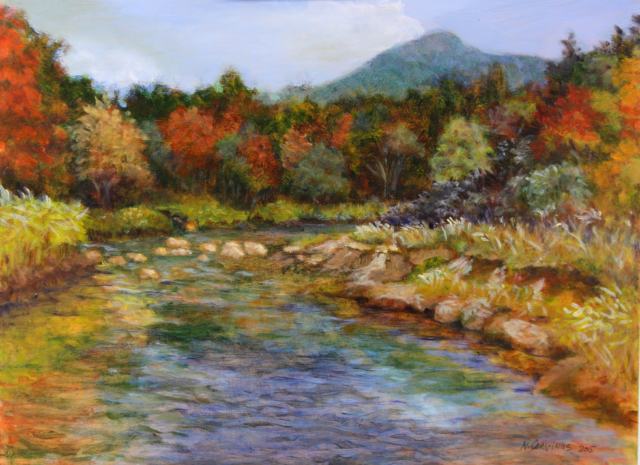 Whiteface, fall