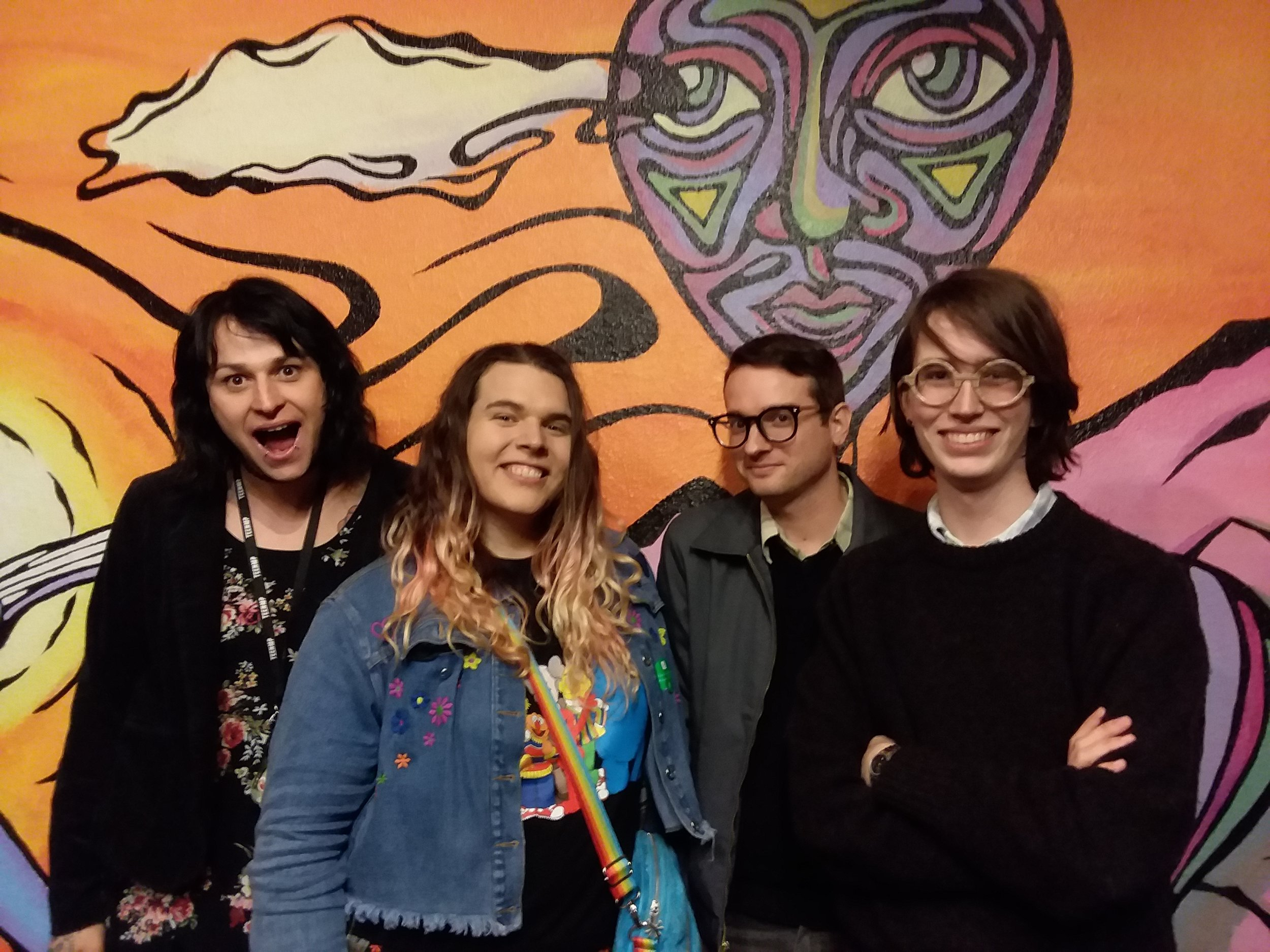 December 12, 2018 - Corpus Arts was excited and proud to host a night with Canadian comic book artist and activist Sophie Labelle, author of the hit webcomic Assigned Male. A collaboration with the Transgender Resource Center of New Mexico, Sophie had a meet-and-greet and led a Q&A about being a trans woman artist and social activist.