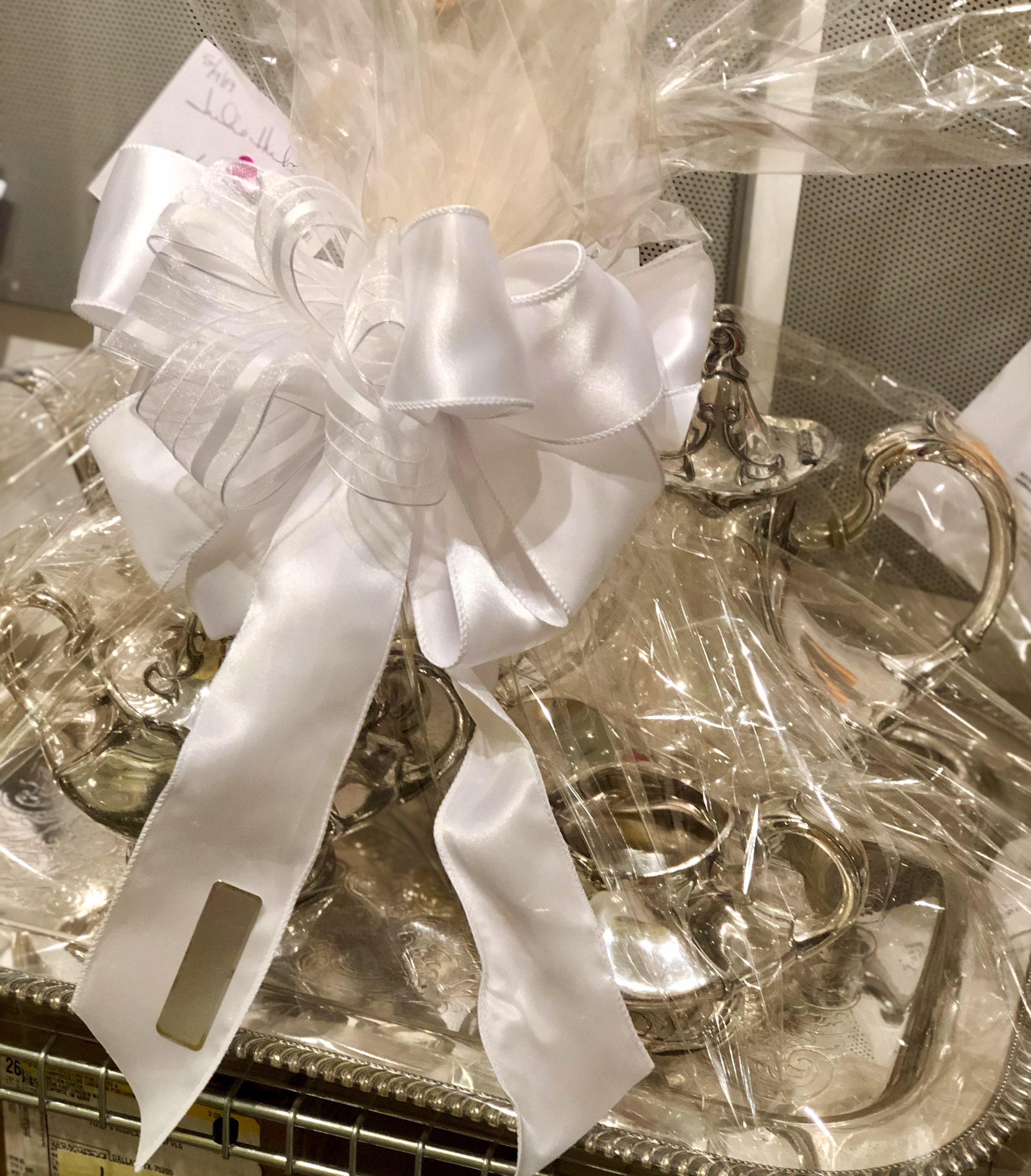 Silver for a special wedding gift