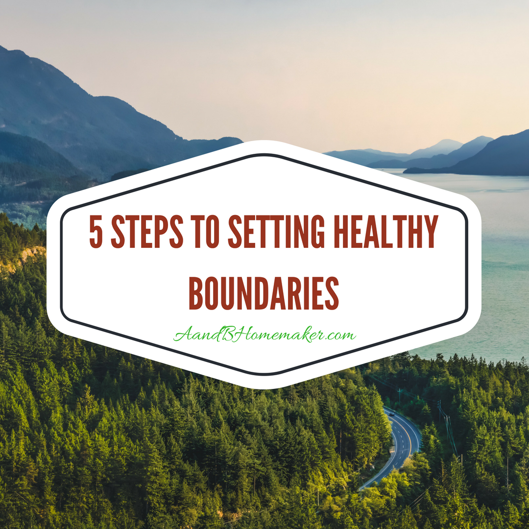 5 Steps to Setting Healthy Boundaries