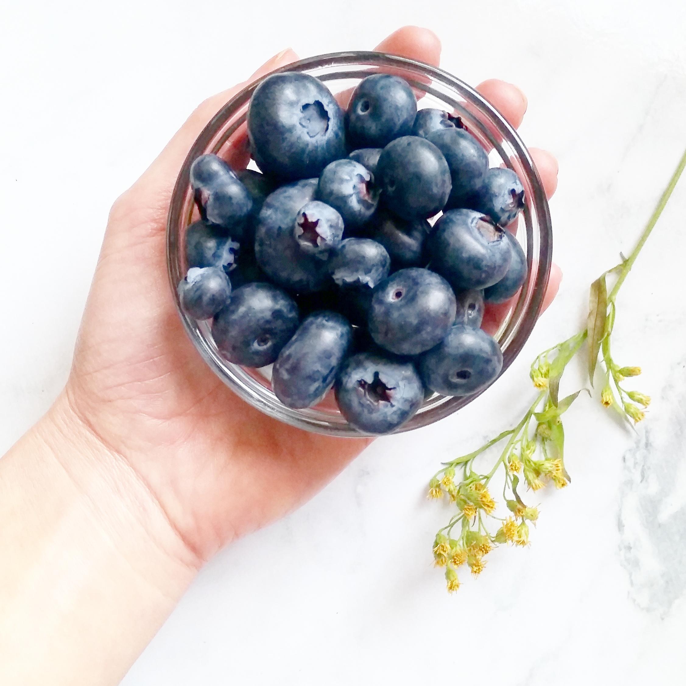 blueberries for depression