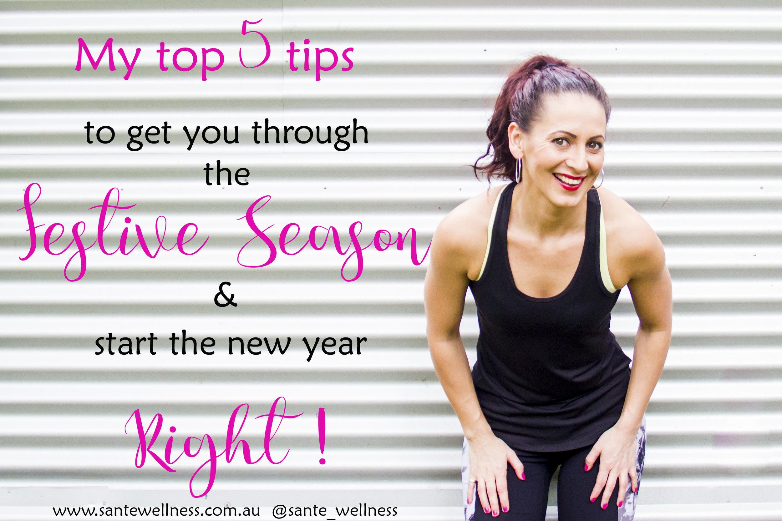 sante wellness festive season healthy