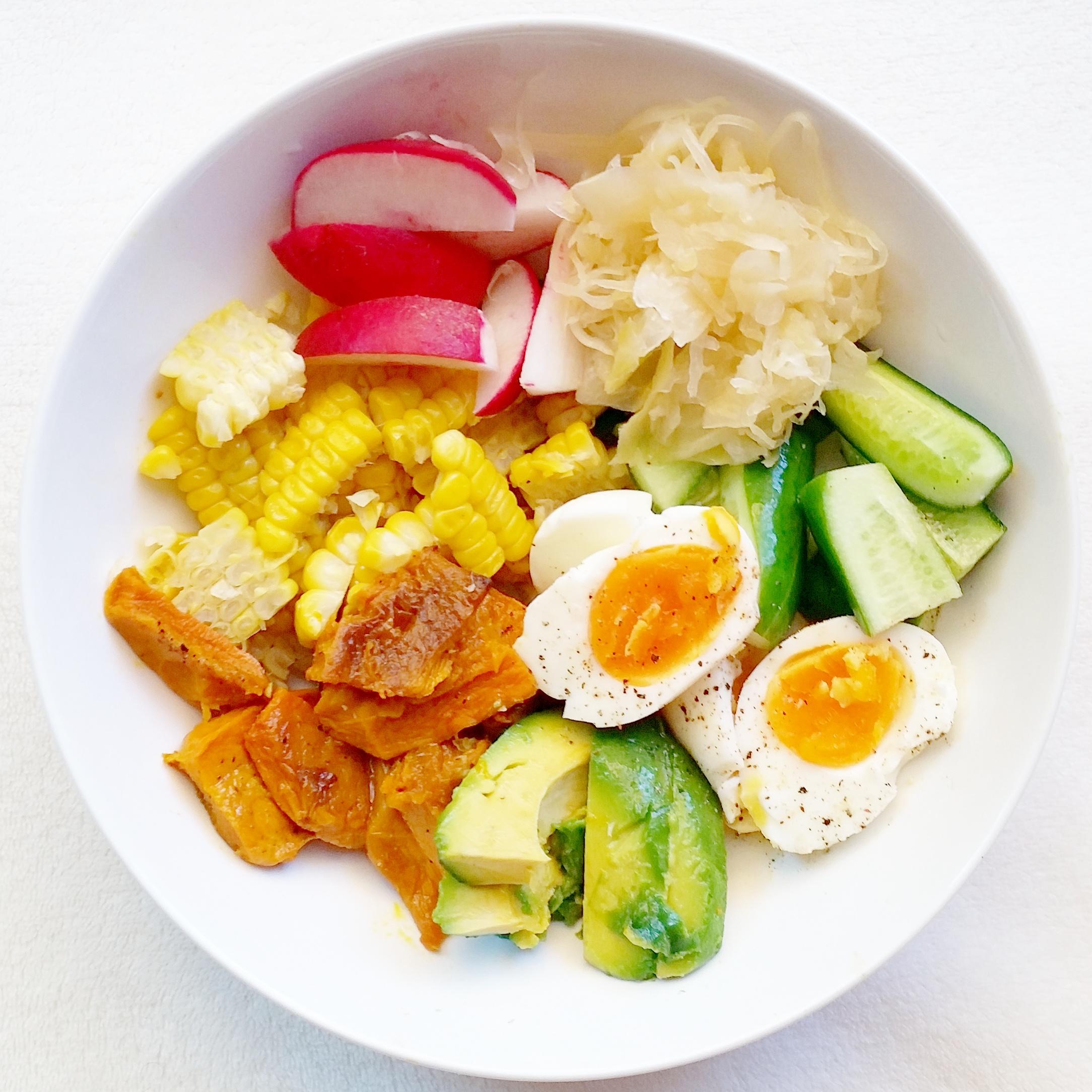 healthy protein food buddha bowl