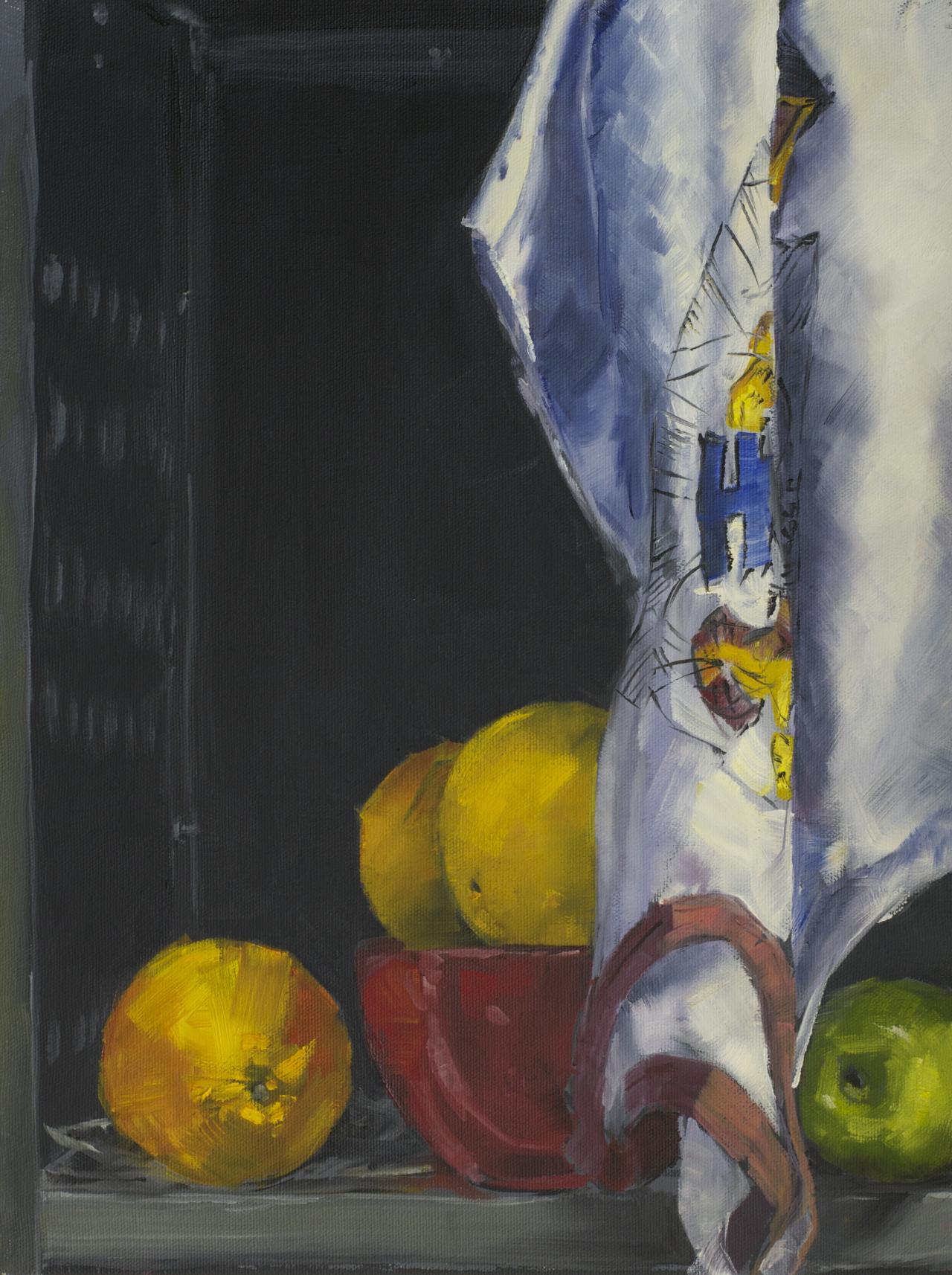 "Triad Color Still-Life 2014 12""x16"""
