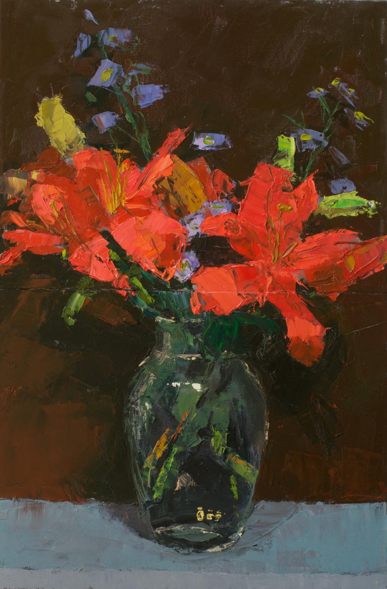 """Flowers 2015  16""""x24"""""""
