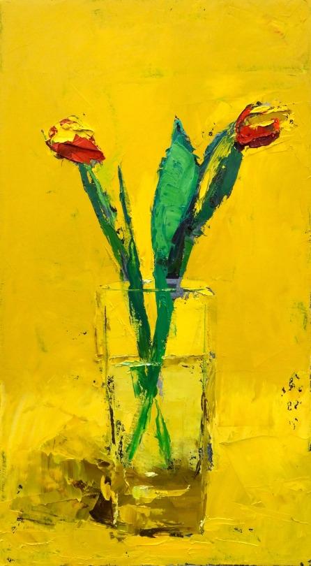"Tulips for Scalia 2016  10""x18"""