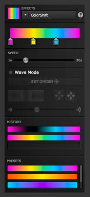ColorShift Gradient Editor