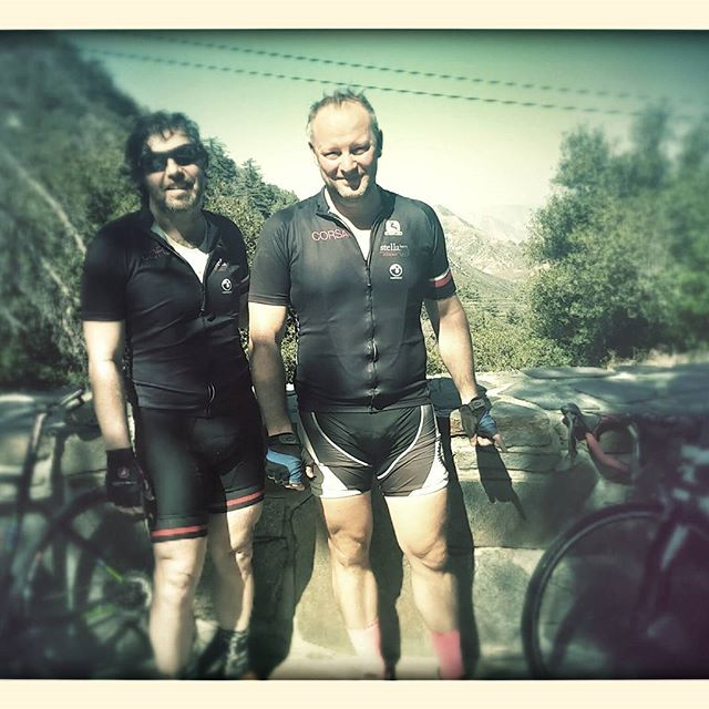 As the elevation got higher so did the Mercury. #36x32. #spinning somms #fatoldguyswhoride