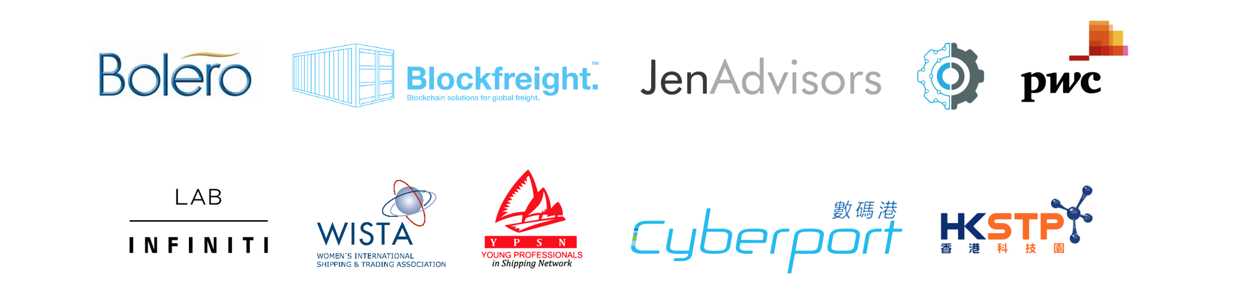 Chain of Shipping event partners