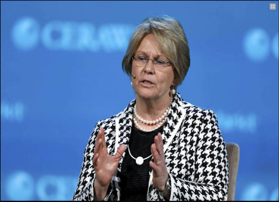 Vicki Hollub, president and CEO, Occidental Petrol