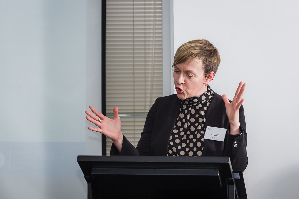 Fiona Wild,VP Climate Change and Sustainability at BHP Billiton