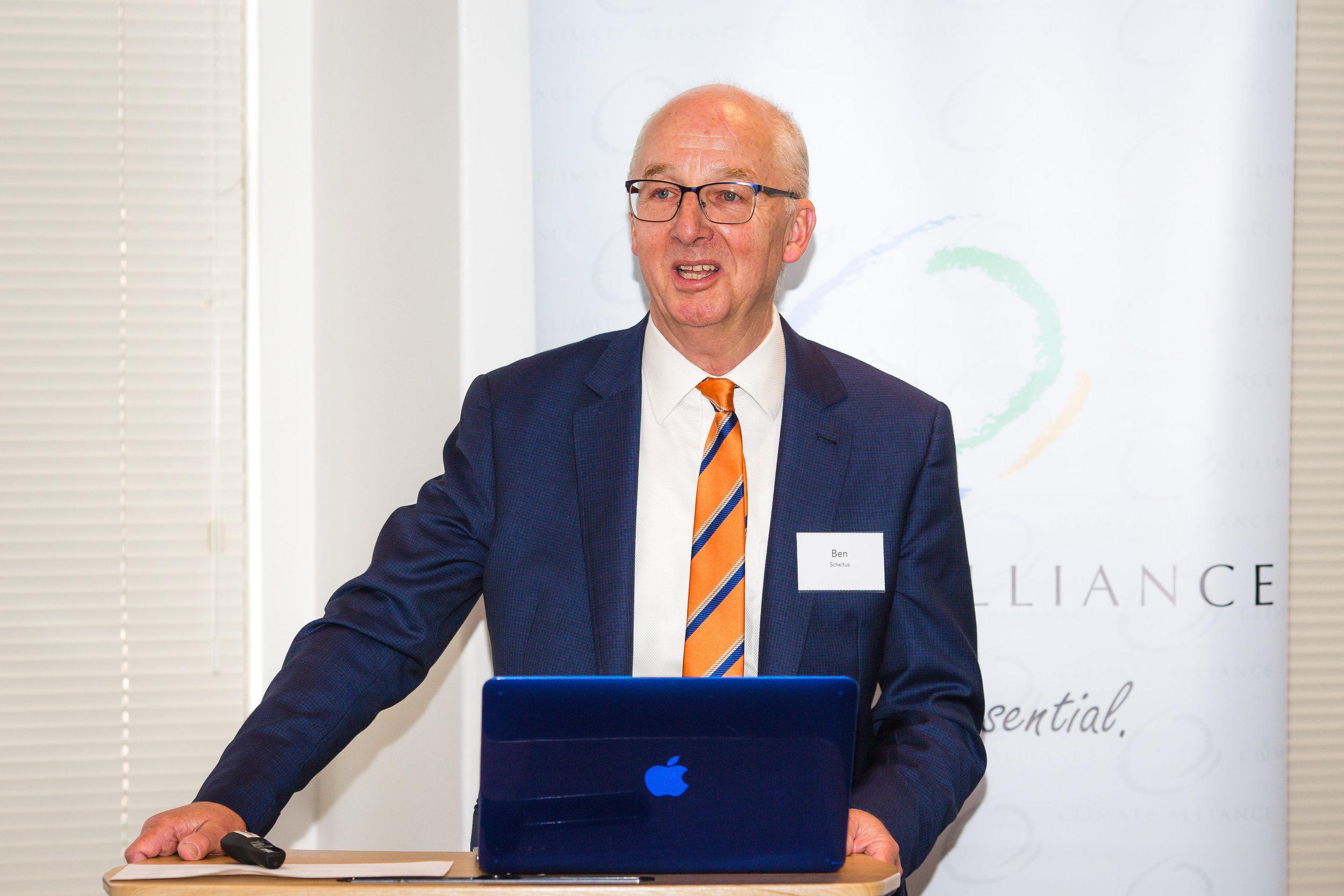 Ben Scheltus, CEO Climate Alliance