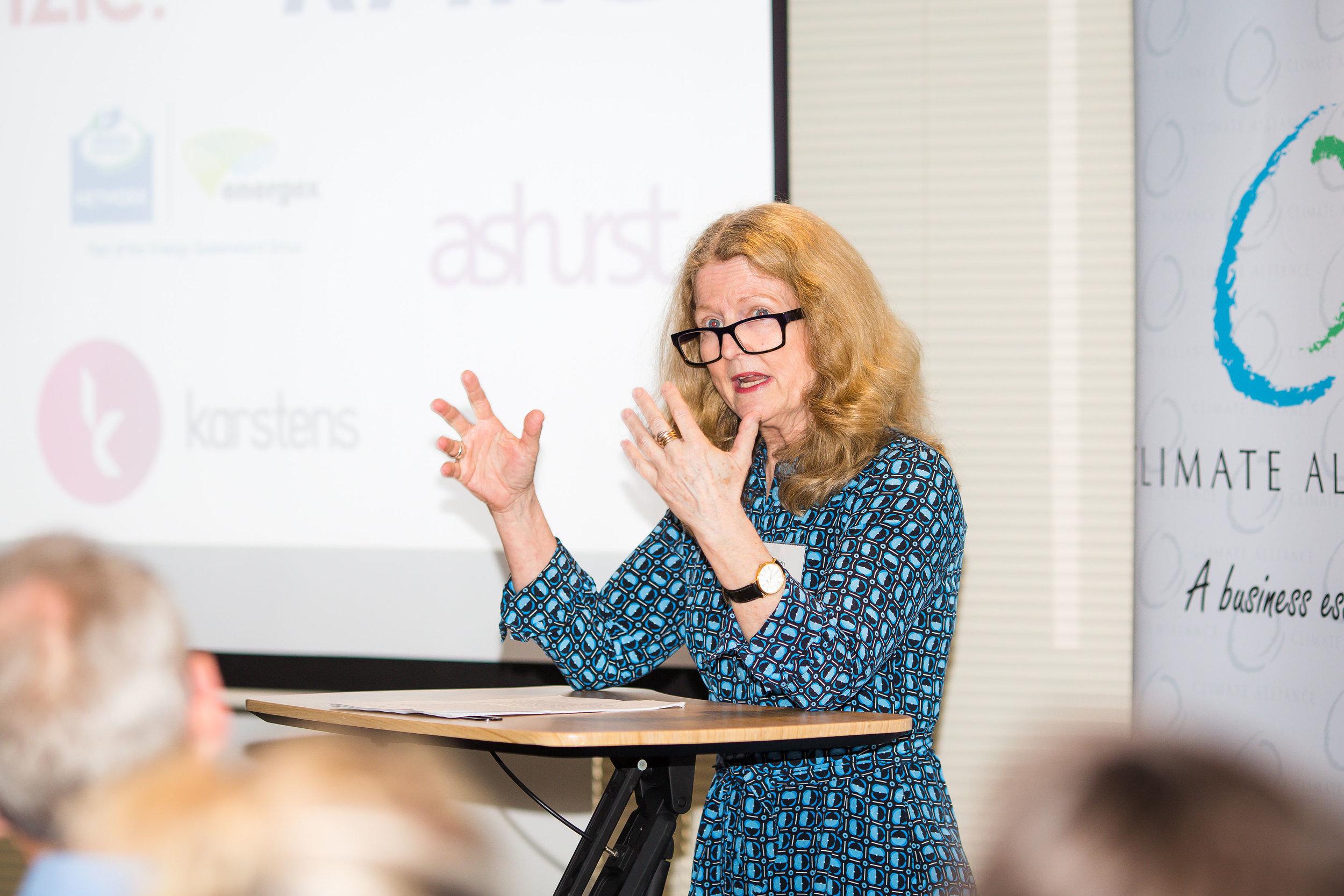 Judith Fox, CEO Australian Shareholders Association