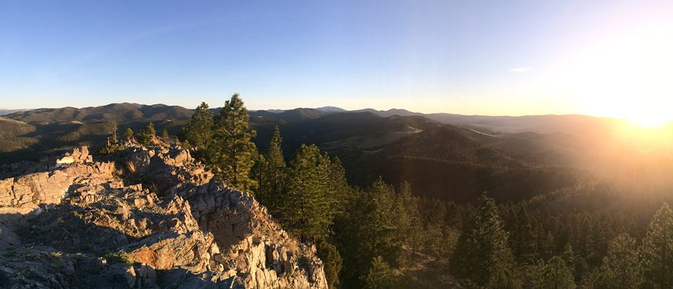 Summit, Mt Helena City Park, Helena,Montana