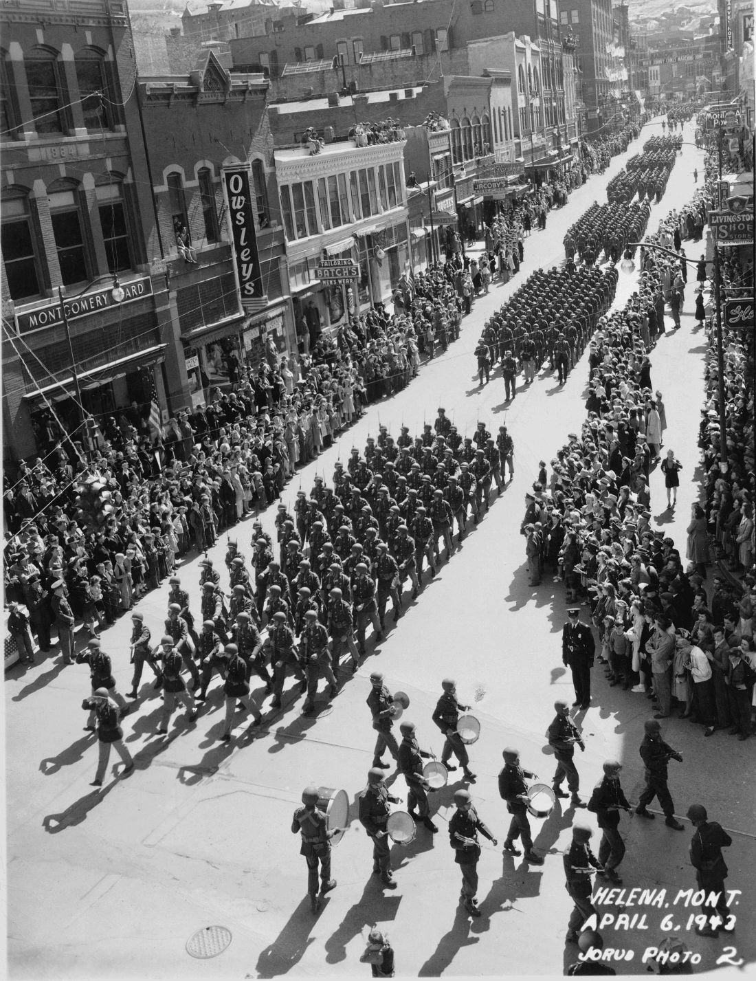 First Special Service Force Parade 1944