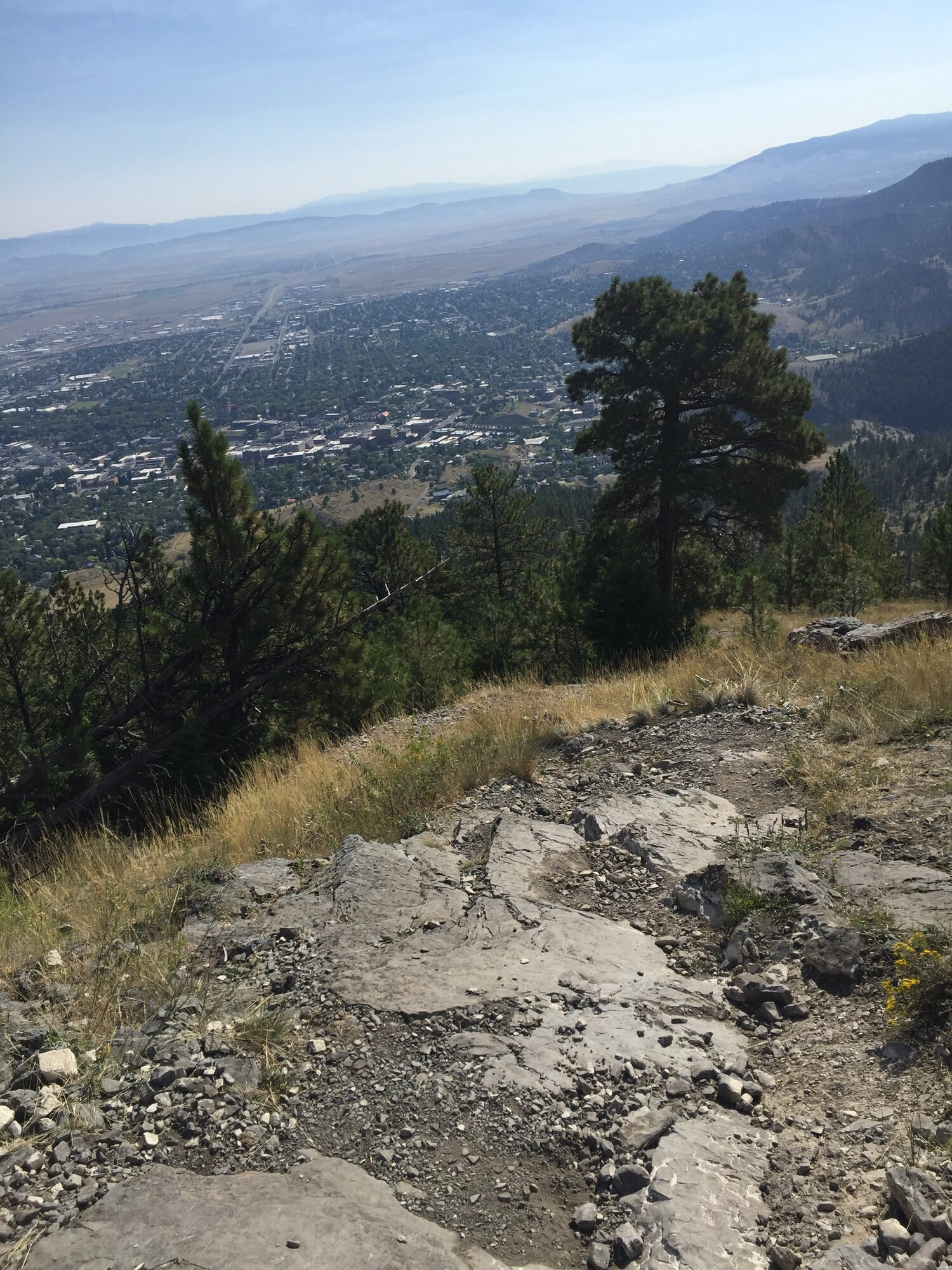 Near the summit of Mt. Helena, Powerline Trail, Helena, Montana