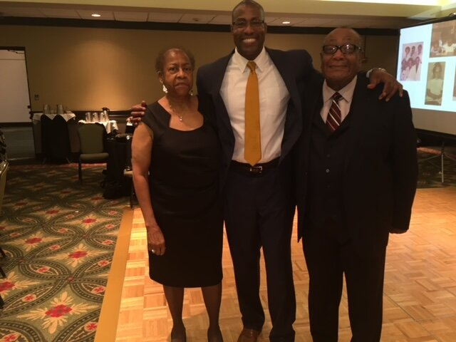 Jason with his parents, Elaine & Dr. Jerome Greer