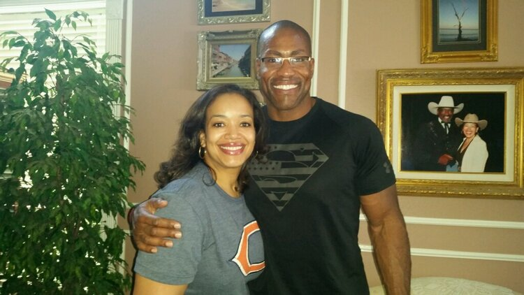 Jason & his wife, Tiffany