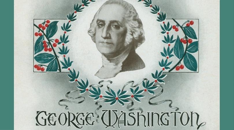 (George Washington's Birthday Dinner Program, 1900 (NYPL, 475917)