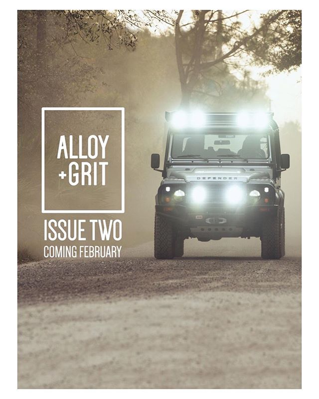 We are a young, upstart and passionate business.  And we are ok with that because we are already beginning to partner with people like @alloyandgrit who have the same passion and love for the outdoors and just as equally, the vehicles that can take us there.  We are excited and humbled to be working together this summer, here in Alberta and down in Montana for their 200+ page Travel Journal to be released later this year.  Until then, you can check out their amazing work in the upcoming Alloy + Grit - Issue 2.  Click the link in their profile and grab a copy.  Cheers to the future; it's for the bold. | #RoamOutside #Alloy+Grit