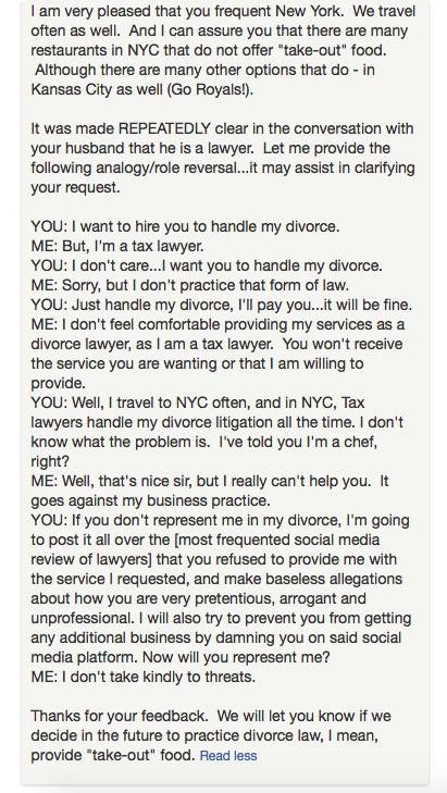 online review nasty customer 3