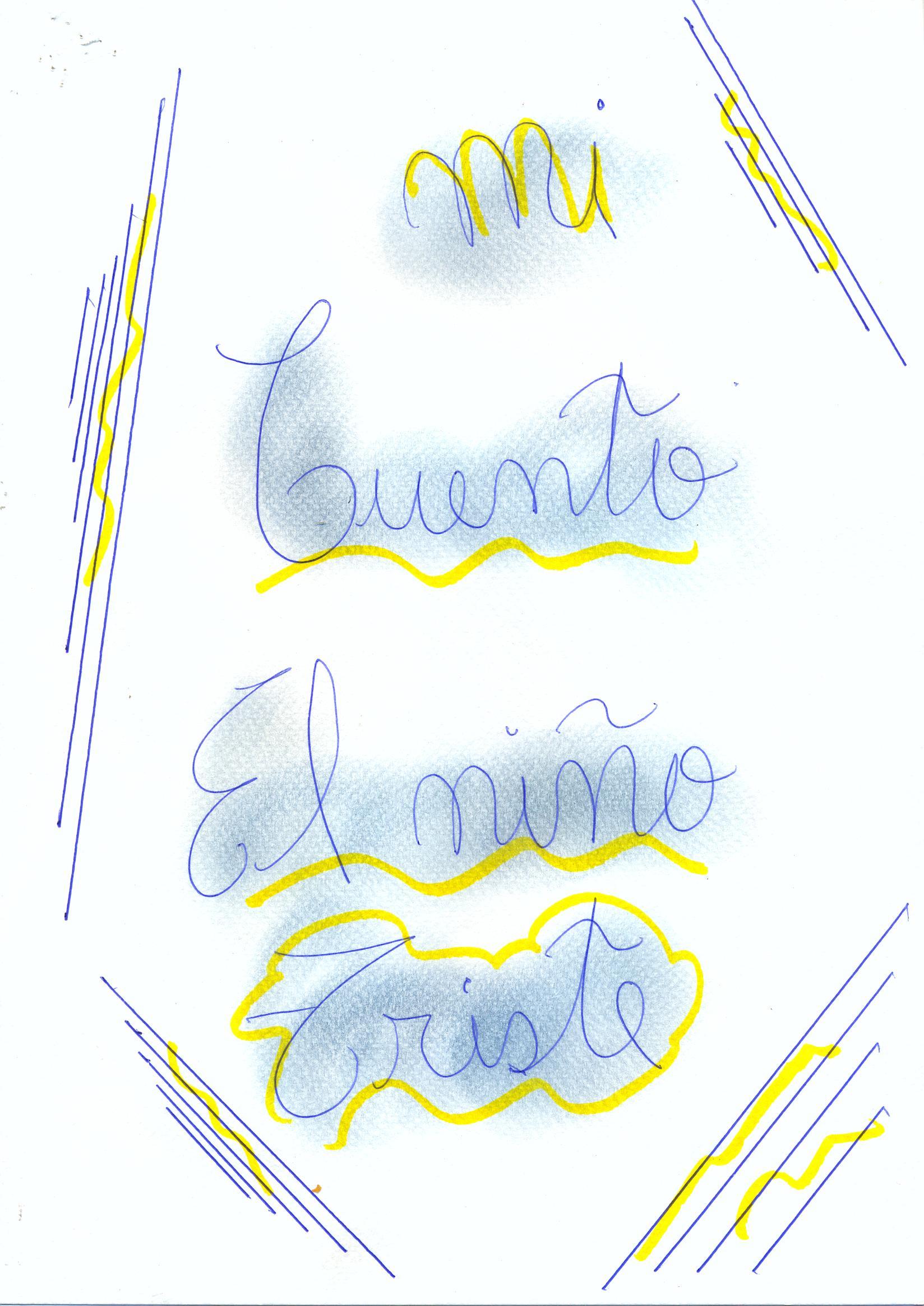 El Niño Triste (The Sad Boy) by Elizabeth S.