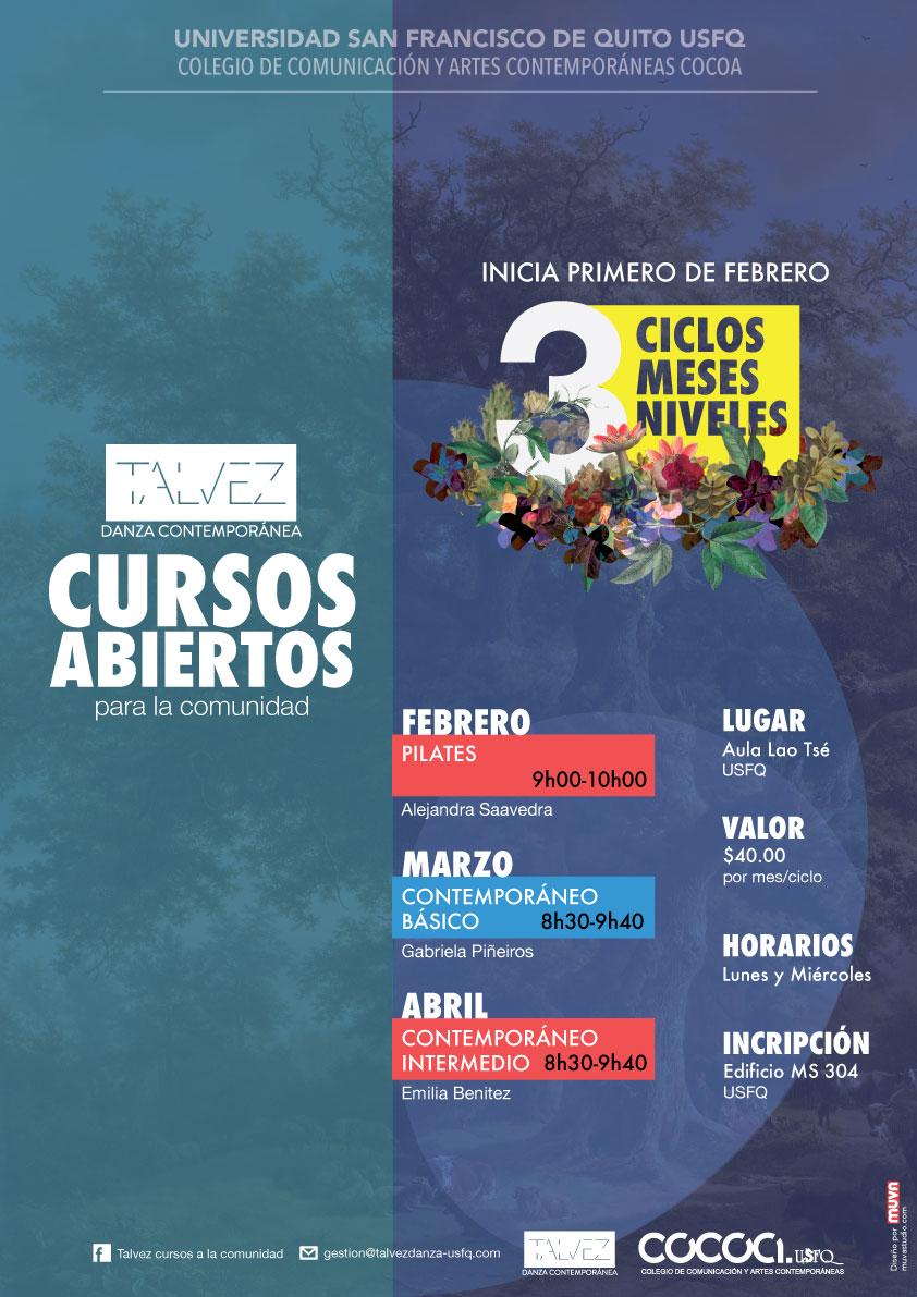 CURSOS PARA LA COMUNIDAD 2017