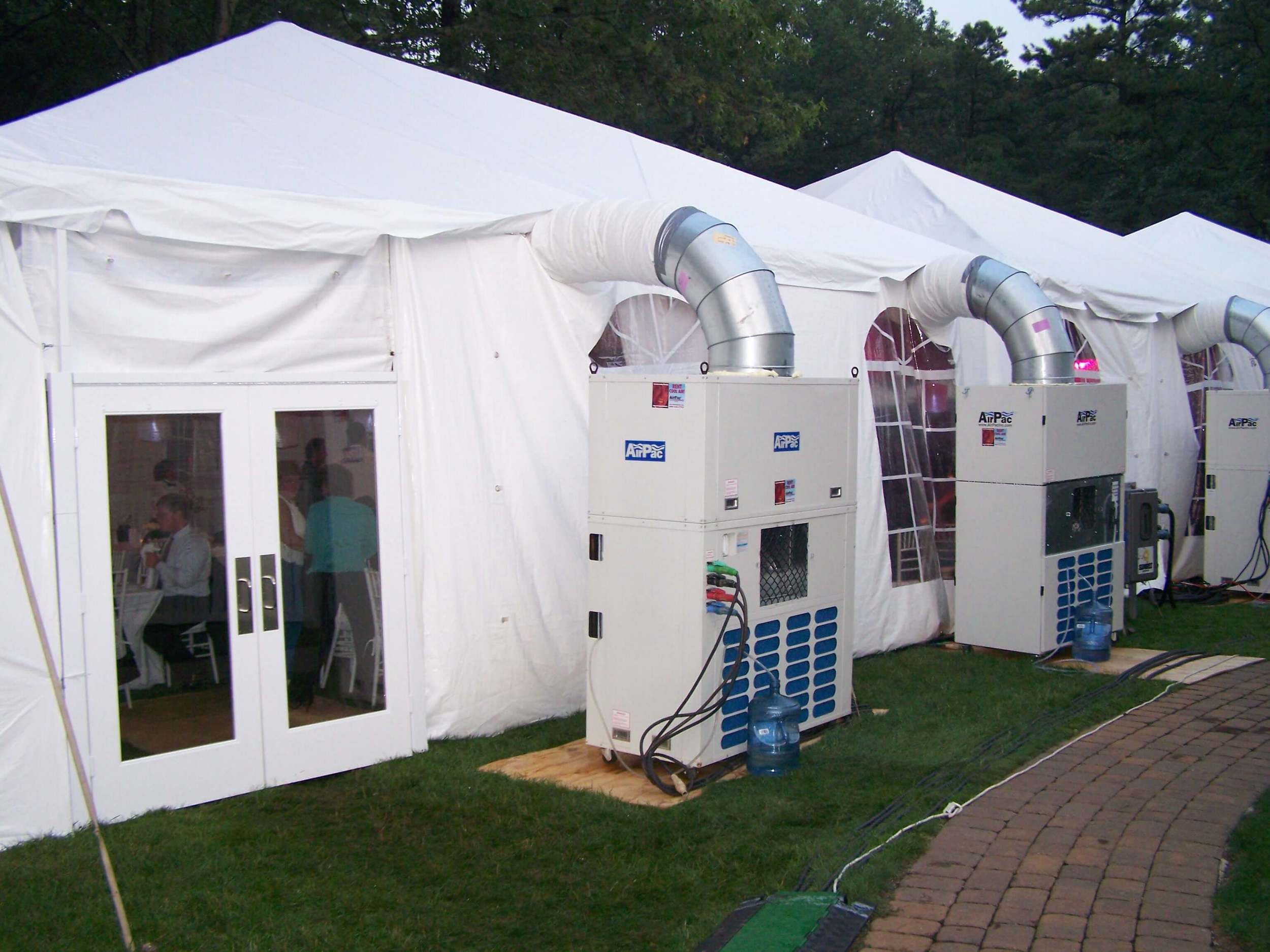 Tent Air Conditioning, Heating, & Power