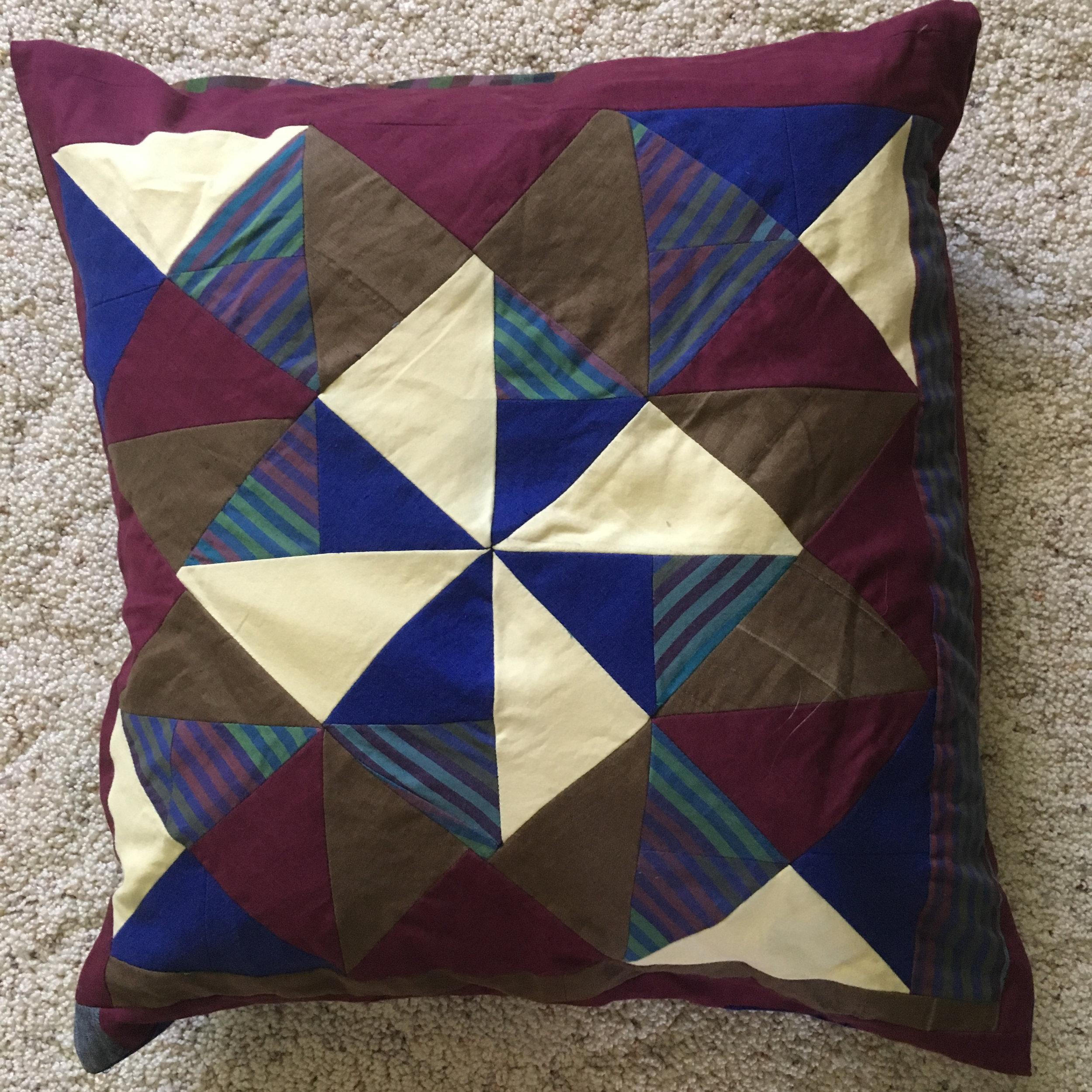 Pinwheel Pillowcase