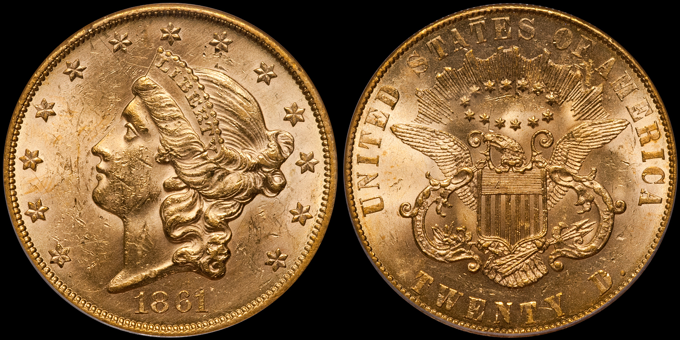 The World Record Setting $1.65 Million Dollar 1861 Paquet $20.00