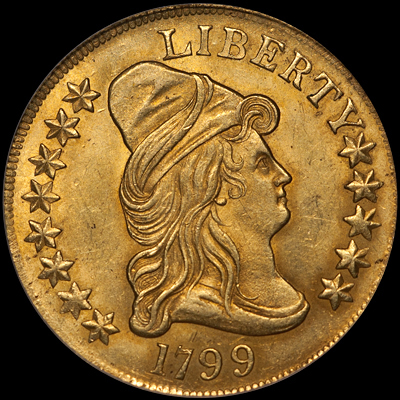"""...Early American Gold Coins... - The term """"Early American Gold Coins"""" generally refers to the quarter eagles, half eagles and eagles produced at the Philadelphia mint between 1795 and 1834."""