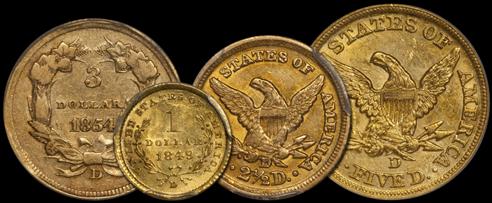 Dahlonega Four Coin Set